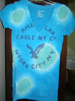 American Eagle Women T-shirt S To Xl 3 Styles