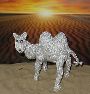 PRINTED INSTRUCTIONS-SILVER CAMEL TOY ANIMAL KNITTING ...