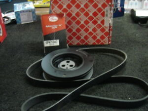 JAGUAR-X-TYPE-2-0D-CRANKSHAFT-PULLEY-FAN-BELT-NEW