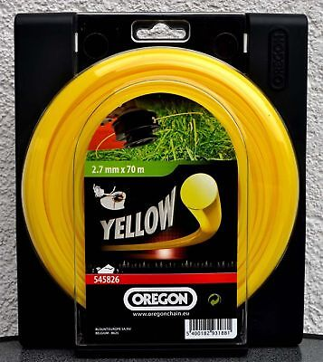 Oregon Yellow Roundline Mähfaden 2,7mm x70m