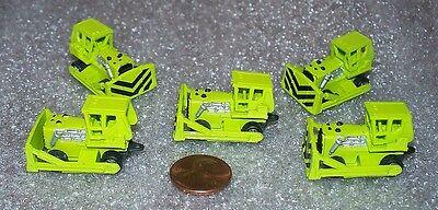 Lot Of 5 Micro Machines Bulldozer Miniature