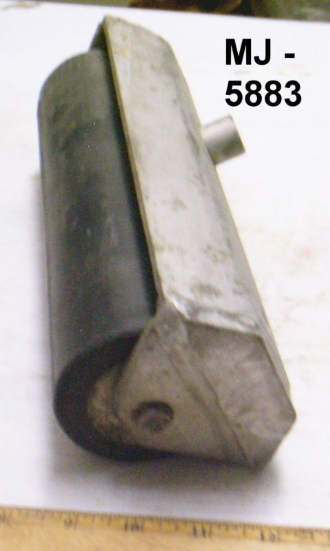 Material Handling Rubber Roller Assembly -  P/N:  3B1135D-1