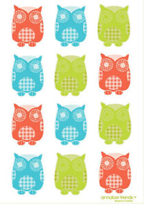 Owl  Linen Tea Towel Super Absorbent Annabel Trends New