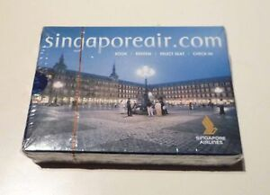 SINGAPORE-AIRLINES-Playing-Cards-ROME-ITALY-SQ