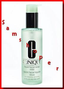 Clinique-Liquid-Facial-Soap-Mild-200ml-6-7OZ-NEW