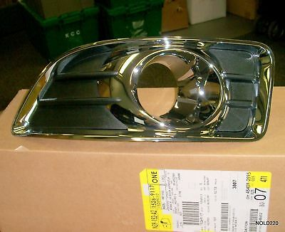 Chrome  Fog  Light  Bezel