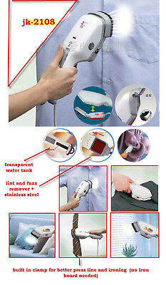Stainless Portable Travel Heat Steam Iron Brush 110 Vol,650 W,heats Up In 30 Sec