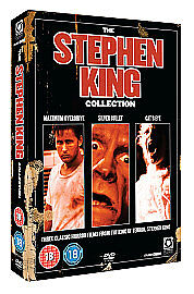 Stephen king movie collection dvd new cats eye maximum for Jackson galaxy cat toys australia
