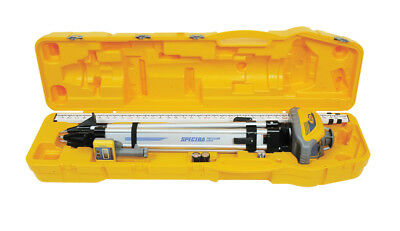 New Spectra Precision LL100N-1 Laser Level Kit in a Case - Tenths Scale