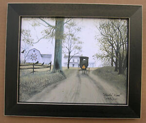 Billy Jacobs Heading Home Amish 8 x 10 Framed Country Pictures Primitive
