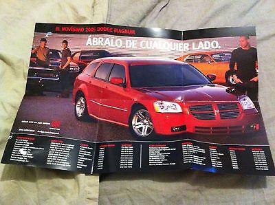 2005 05 Dodge Magnum Sales Dealer Catalogo Espanol Spanish Catalog