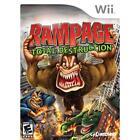 Nintendo Wii Rampage: Total Destruction Video Games