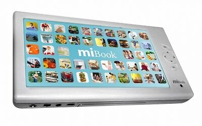 Mibook 7 Portable Digital Video Player Mp3