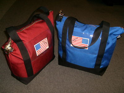 Deposit Bag,bank Bag,documents Or Courier With Pop Up Lock &2 Keys Made In Usa