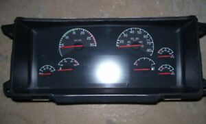 volvo semi tractor trailer speedometer instrument gauge. Black Bedroom Furniture Sets. Home Design Ideas