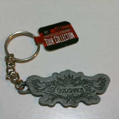 NEW GODSMACK Tour Metal Off Lic Zipper Pendant Keychain