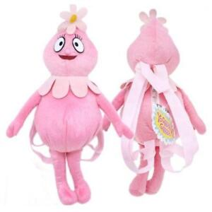 YO-GABBA-GABBA-PLUSH-BACKPACK-FOOFA-PINK-SOFT-DOLL-FIGURE-18-LICENSED-NEW