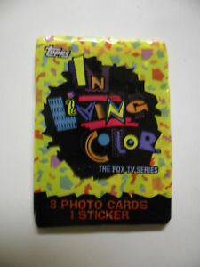 Unopened-Pack-In-Living-Color-TV-Show-Cards-Jim-Carey
