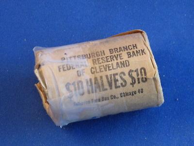 1964 P KENNEDY HALF DOLLAR OBW BU ROLL OF 20 B4135
