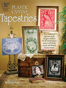 Tapestry-Style-Designs-Plastic-Canvas-Patterns-Book-NEW