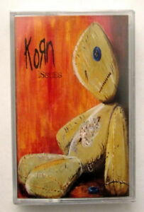 KORN-ISSUES-Rare-New-Sealed-Indonesia-Cassette-Tape