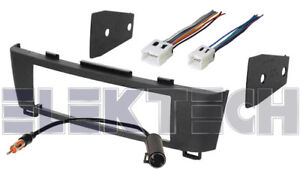 single din radio dash kit w wire harness antenna for 2000 2006 nissan sentra
