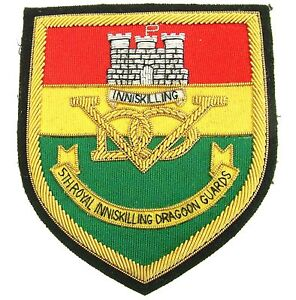 5TH INNISKILLING DRAGOON GUARDS REGIMENTAL BLAZER BADGE