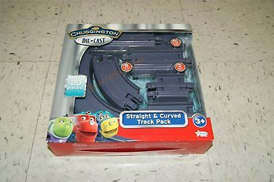 Chuggington Diecast Straight & Curved Track Pack 20 Pcs