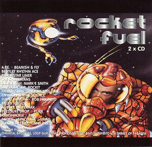 ROCKET-FUEL-Fatboy-Slim-DJ-Food-Charlatans-Break-Beats-Funki-Porcini-Scorn-2xCD