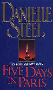 Five-Days-In-Paris-Steel-Danielle-Good-Used-Book