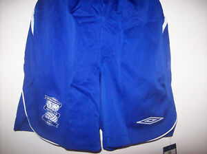 BIRMINGHAM CITY HOME SHORTS 08/09 BNWT SIZE ( MEDIUM )