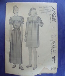 eBay: vintage sewing patterns
