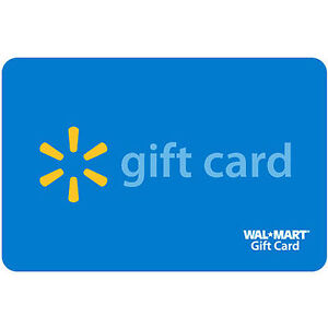 Walmart Gift Card Value $200.00