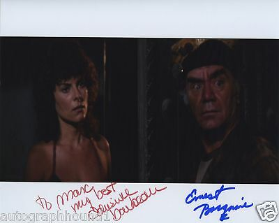 ERNEST BORGNINE BARBEAU SIGNED PIC ESCAPE FROM NEW YORK