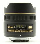 Nikon  Fisheye-Nikkor 10.5mm f/2.8G 10 mm - 10 mm 2.8  Lens For Nikon