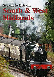 STEAM IN BRITAIN SOUTH & WEST MIDLANDS GENUINE R0 DVD NEW/SEALED