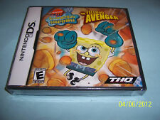 SpongeBob SquarePants: The Yellow Avenger  (Nintendo...