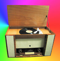 Radio A Valvole Grundig 2033 Con Giradischi 4 Veloc. -  - ebay.it