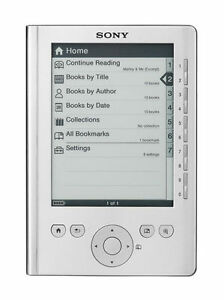 Sony-e-Reader-Pocket-Edition-Silver-PRS-300SC-eBook-Reader