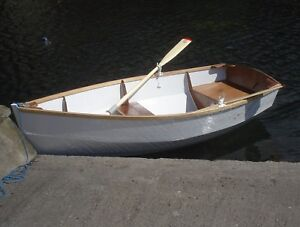 Boat Building Plans for RYE BAY Rowing/Motor Dinghy
