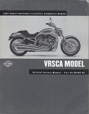 2002 Harley Davidson Motorcycle Electrical Parts Manual
