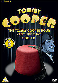 TOMMY COOPER COLLECTION - THE TOMMY COOPER HOUR - NEW REGION 2 DVD