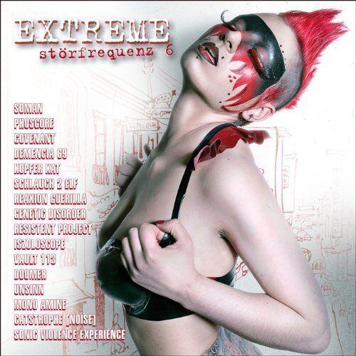 EXTREME STÖRFREQUENZ 6 CD PHOSGORE Soman COVENANT