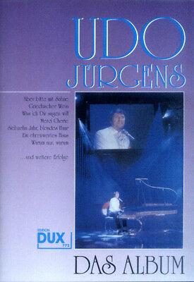 Udo Jürgens Das Album Die größten Hits Songbook Noten