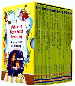 Usborne-Very-First-Reading-16-Books-Box-Set-Collection