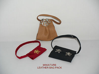 Miniature Soft Leather Bag Pack