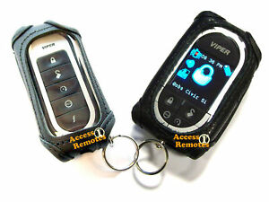 Viper-5902-LEATHER-REMOTE-CASES-For-Both-Remotes