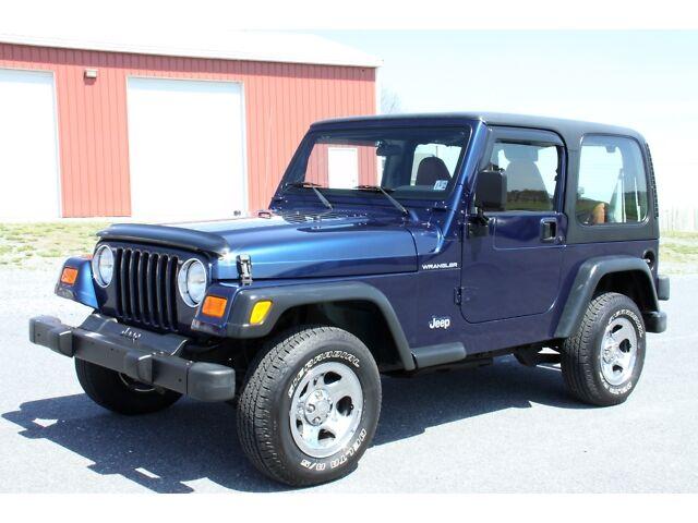 used 2002 jeep wrangler apex ed hardtop 5 speed 19mpg. Black Bedroom Furniture Sets. Home Design Ideas