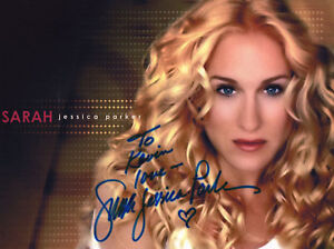 SARAH-JESSICA-PARKER-Signed-10x8-Photo-SEX-IN-THE-CITY-COA