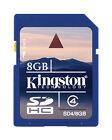 Kingston 8GB SD Camera Memory Cards